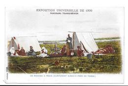 Exposition Universelle De 1900 - Panorama Transsibérien De Moscou à Pékin (Campement Kirghis Près De Tomsk) - Russland