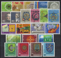 1980. Switzerland. Full Years. MNH ** - Nuovi