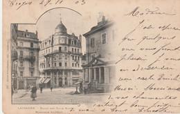 N°4898 R -cpa Lauzanne -bazar Des Trius Suisses- - VD Vaud