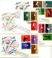 1960 SAN MARINO FDC Giochi Olimpici Di Roma - FDC