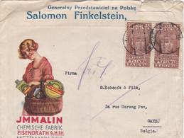 Polska - JMMALIN Chemische Fabrik - Eisendrath - 1919-1939 Republic