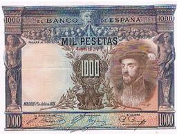 ESPAGNE  MIL PESETAS    JUILLET 1925        BI1 - [ 1] …-1931 : Prime Banconote (Banco De España)