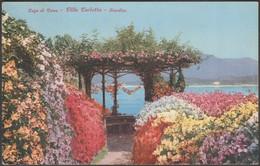 Giardino, Villa Carlotta, Lago Di Como, C.1920 - Brunner Cartolina - Italy