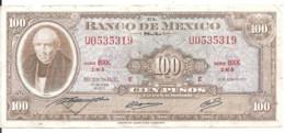 MEXIQUE 100 PESOS 1973 VG+ P 61 I - Mexiko