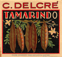 """M011219 """" TAMARINDO-C. DELCRE' """"  ETICHETTA - Labels"""