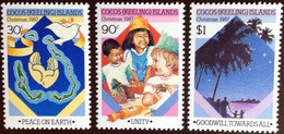 Cocos Keeling 1987 Christmas MNH - Cocos (Keeling) Islands