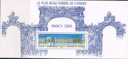 FRANCE : N° 3785a ** En BF Souvenir N° 14  (Nancy 2005 : Le Plus Beau Timbre De L'année) Sous Carton Ouvert- PRIX FIXE - - Souvenir Blocks & Sheetlets