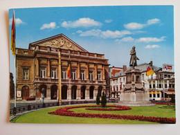 BELGIUM..POSTCARD..LUTTICH..DAS THEATER AND GRETRY-DENKMAL - Autres