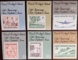 Cocos Keeling 1988 Stamp Anniversary MNH - Cocos (Keeling) Islands