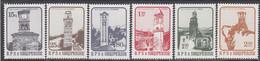 Albania 1984 - Clock Towers, Mi-Nr. 2199/204, MNH** - Albania