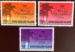 Cocos Keeling 1988 Christmas MNH - Cocos (Keeling) Islands