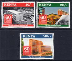 2020 Kenya Aga Khan University Hospital Complete Set Of 3 MNH Health Medical - Kenya (1963-...)