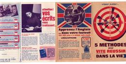 Publicité 5 Méthodes Pour Vite Réussir Dans La Vie- Format Pliée : 8.5x14cm - Werbung