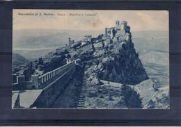 Saint Marin. Rocca. Basilica E Palazzo - San Marino