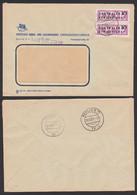 BERLIN  O17, N24 DIA ZKD-Brief B10 (1600) Kreisaufdruck Zentraler Kurierdienst Der DDR, ZKD-Nr. 110 - Service