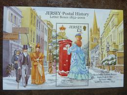 2002 JERSEY Postal History    SG = MS  1073  ** MNH - Jersey