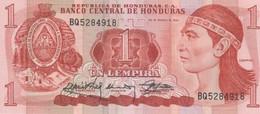(B0220) HONDURAS, 1989. 1 Lempira. P-68c. UNC - Honduras