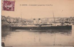 N°4908 R -cpa Dieppe -l'Arundel Tournant Dans L'avant Port- - Ferries