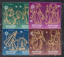 CI1002 - AITUTAKI 1976 , Serie 180/187  ***  MNH  Christmas - Aitutaki
