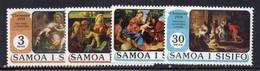 CI1014 - SAMOA 1974 , Serie 345/348  ***  MNH  Christmas - Samoa