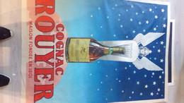 16- COGNAC - RARE GRANDE AFFICHE COGNAC ROUYER GUILLET- GRANDE FINE CHAMPAGNE - Posters