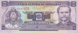 (B0221) HONDURAS, 1994. 2 Lempiras. P-72. UNC - Honduras