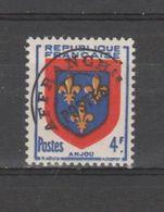 FRANCE /1949 / Y&T Préo N° 105 ** : Armoiries De L'Anjou Surchargé X 1 - 1893-1947