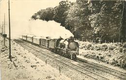 Thème Train Locomotive Sud -Est Rapide Marseille à Fontainebleau Pacific 231 G CP Ed. H.M.P. N°1008 Vapeur Steam - Treinen