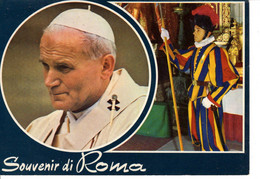 Italie Rome Roma Joannes Paulus II Pape Religion Coryance Christianisme Garde Thevenet Bagnolet - Roma (Rome)