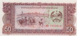 (B0241) LAOS, 1979 (ND). 50 Kip. P-29a. UNC - Laos