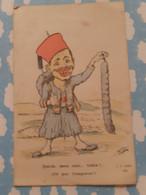 Illustrateur Chagny Zouave Saucisson Pour L'empereur - Chagny