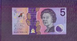 Australia - 5 Dollars 2016 Polymer Booklet (series EC ) UNC. - Decimaal Stelsel Overheidsuitgave 1966-...