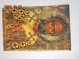 Saint Nicolas. Icone Du 14eme Siecle. Eglise De La Chryseleousa, Aredhiou, Chypre. Expo Musee Des Arts Decoratifs 1967 - Schilderijen
