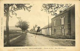 031 581 - CPA - France (08) Ardennes - Sault-Saint-Remy - Entrée Du Pays - Rue D'Houdilcourt - Otros Municipios
