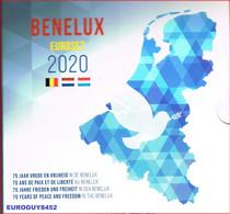 BENELUX SET 2020 BU - 75 JAAR VREDE EN VRIJHEID IN DE BENELUX - Belgium