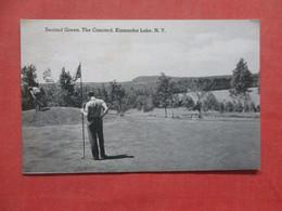 Golf  Second Green The Concord Kiamesha Lake   New York    Ref  4387 - NY - New York