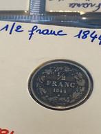 1/2 Franc 1844 - 07. 1/2 Francos
