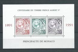MONACO 1991. Bloc Feuillet N°53 .   Neuf ** (MNH) - Blocchi