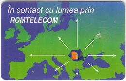 ROMANIA A-315 Chip Telecom - Used - Romania
