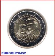 LUXEMBURG - 2 € COM. 2020 UNC - PRINS HENDRIK - Luxemburg