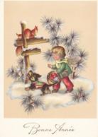 Teckel Dackel  Dachshund Squirrel  Écureuil  Chien Hund Cane  Bassotto Old Postcard - Cani