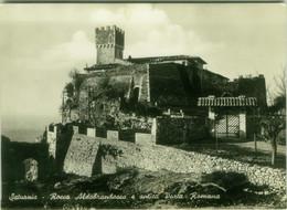SATURNIA (MANCIANO / GROSSETO ) ROCCA ALDOBRANDESCA E ANTICA PORTA ROMANA - EDIZ. BARTOLINI - SPEDITA 1961 (BG6154) - Grosseto
