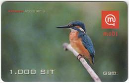 SLOVENIA B-425 Prepaid Mobi - Animal, Bird, Kingfisher - Used - Slovenia