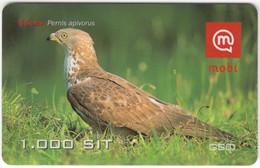 SLOVENIA B-443 Prepaid Mobi - Animal, Bird, Honey Buzzard - Used - Slovenia