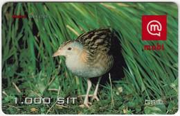 SLOVENIA B-459 Prepaid Mobi - Animal, Bird, Corn Crake - Used - Slovenia