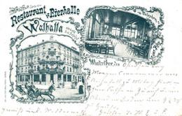 Restaurant Bierhalle Walhalla Winterthur Kanton Zürich 1902 - ZH Zurich