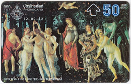THAILAND H-487 Hologram TOT - Culture, Historic Painting - 881K - Used - Thailand