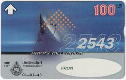 THAILAND H-493 Hologram TOT - Communication, Satellite Dish - 912C - Used - Thailand