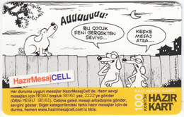 TURKEY B-484 Prepaid TurkCell - Comics - Used - Turquie