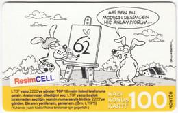 TURKEY B-520 Prepaid TurkCell - Comics - Used - Turquie
